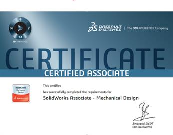 Come along test your skills! SOLIDWORKS CSWA exam