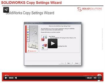 Copy Settings Wizard