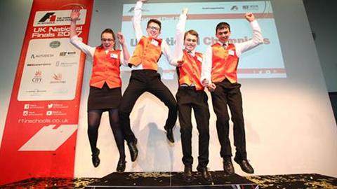Coventry Academy Student Team Crowned F1 in School