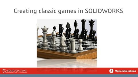 Creating classic games in SOLIDWORKS