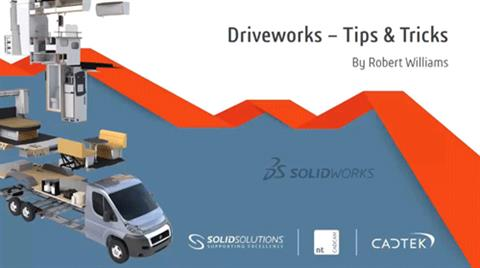 Driveworks - Tips & Tricks