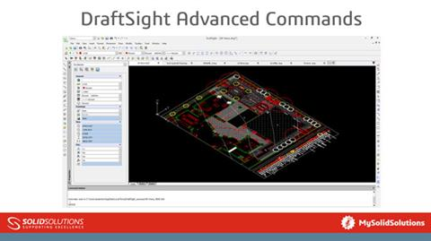 DraftSight Advanced Commands