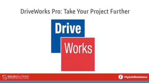 DriveWorks Pro: Take Your Project Further