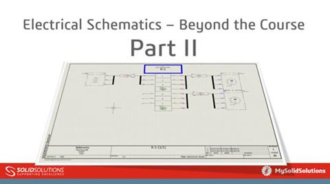 Electrical Schematics – Beyond the Course Part 2