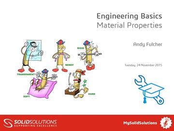 Engineering Basics – Material Properties