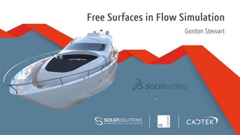 Free surface modelling in Flow Simulation
