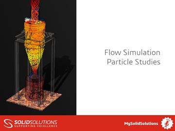 SOLIDWORKS Flow Simulation Particle Studies