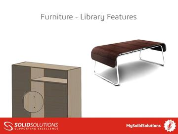 Furniture - SOLIDWORKS Library Features