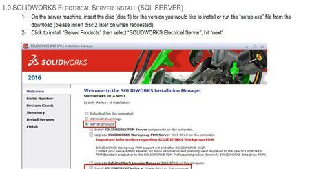 Installing SOLIDWORKS Electrical (Network)