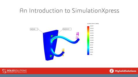 An Introduction to SimulationXpress