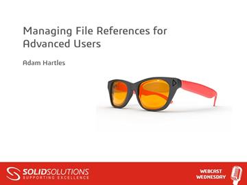 Managing File References for Advanced Users