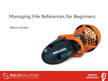 Managing File References for Beginners