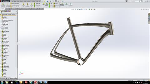 Modelling a Bike – The Frame