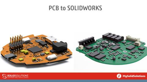 PCB to SOLIDWORKS