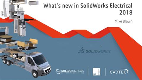 What's New in SOLIDWORKS Electrical 2018