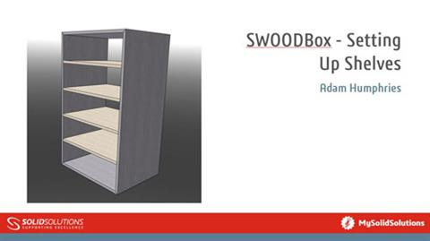SWOODBox - Setting Up Shelves
