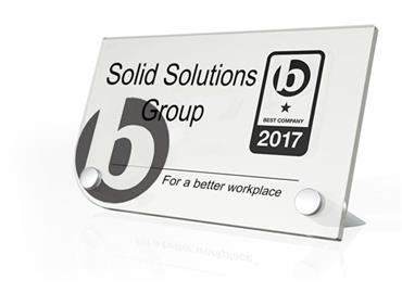 Solid Solutions Group achieve one star in 'Best Co