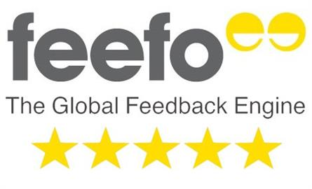 Solid Solutions re-issued Feefo Gold Service Award