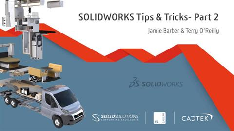 SOLIDWORKS Tips & Tricks - Part 2