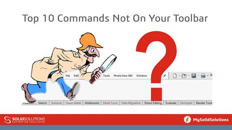 Top 10 Commands Not On Your Toolbar