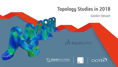Topological Optimisation in SOLIDWORKS Simulation