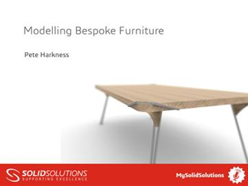 Modelling Bespoke Furniture