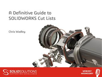 A Definitive Guide to SOLIDWORKS Cut Lists