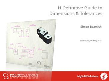 A Definitive Guide to Dimensions & Tolerances