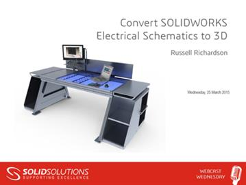 Convert SOLIDWORKS Electrical Schematics to 3D