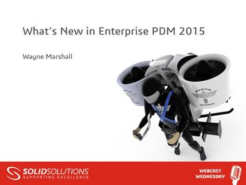 What's New in Enterprise PDM 2015