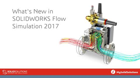 What's New in SOLIDWORKS Flow Simulation 2017