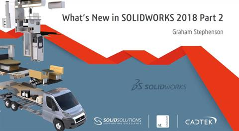 What's New in SOLIDWORKS 2018, Part II