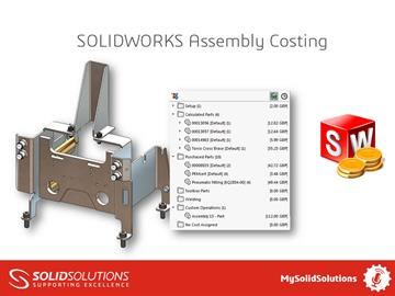 SOLIDWORKS Assembly Costing