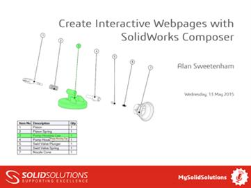 Create Interactive Webpages with SOLIDWORKS Compos