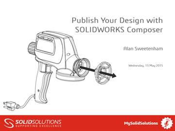 Publish Your Design with SOLIDWORKS Composer