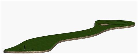 SOLIDWORKS Motion Contact - Golf Course