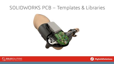 SOLIDWORKS PCB – Templates & Libraries