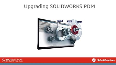 Upgrading SOLIDWORKS PDM