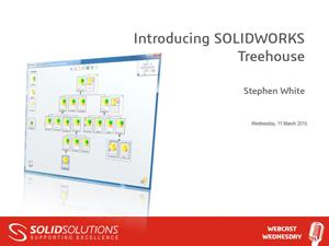Introducing SOLIDWORKS Treehouse
