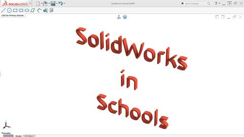 SOLIDWORKS in Schools - A New Initiative