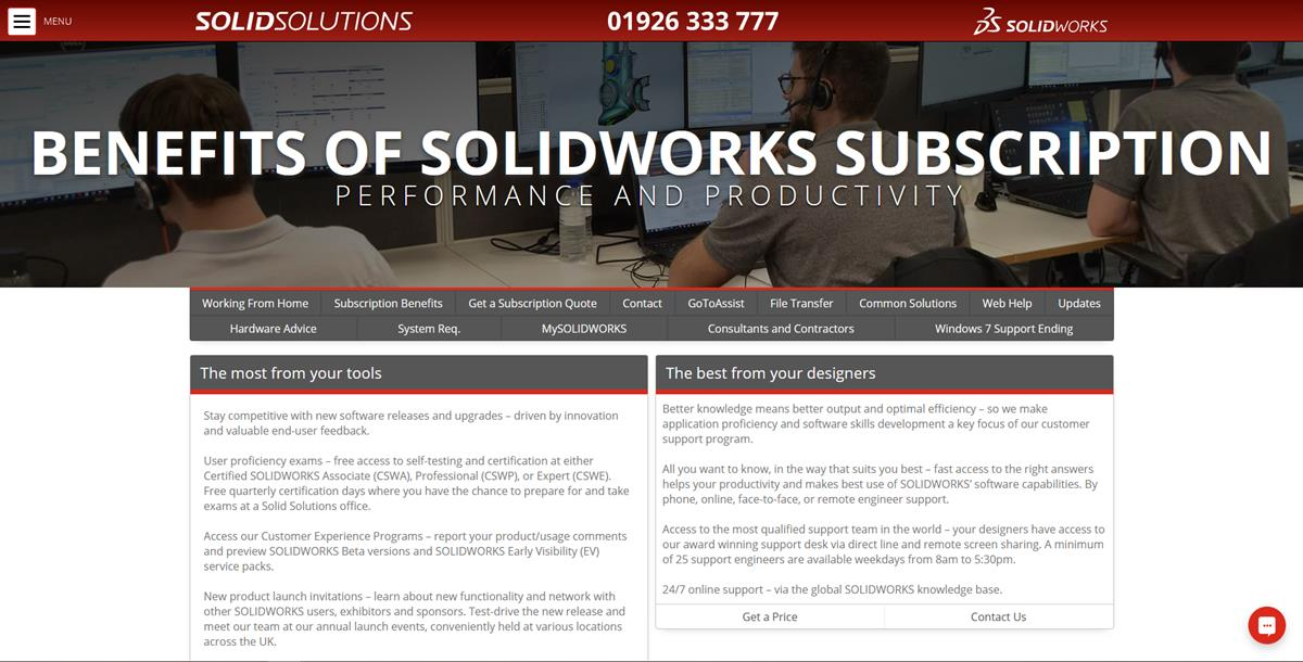 Discover The Benefits Of Solidworks Subscription