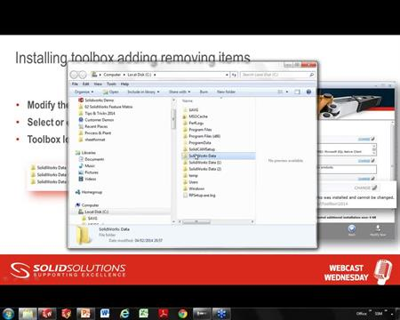 Updating the Toolbox Database - SOLIDWORKS Online Tutorial