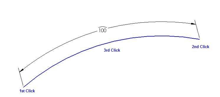 Arc Length Dimension